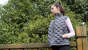 This Eco-Conscious Vest Is Made From Recycled Plastic Bottles